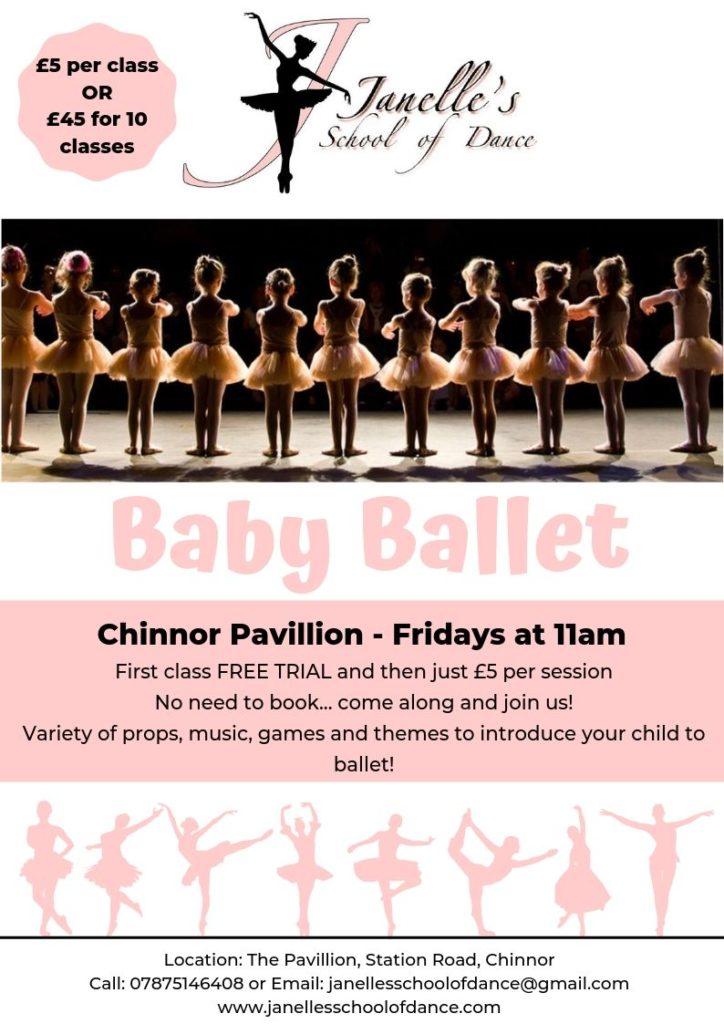 Janelle's Baby Ballet Flyer JPG