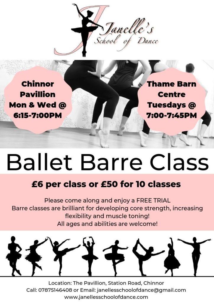 Janelle's Ballet Barre Class Flyer JPG