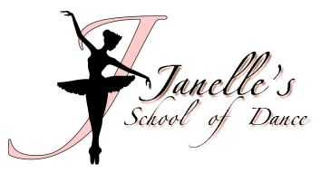 Janelles School of Dance Logo