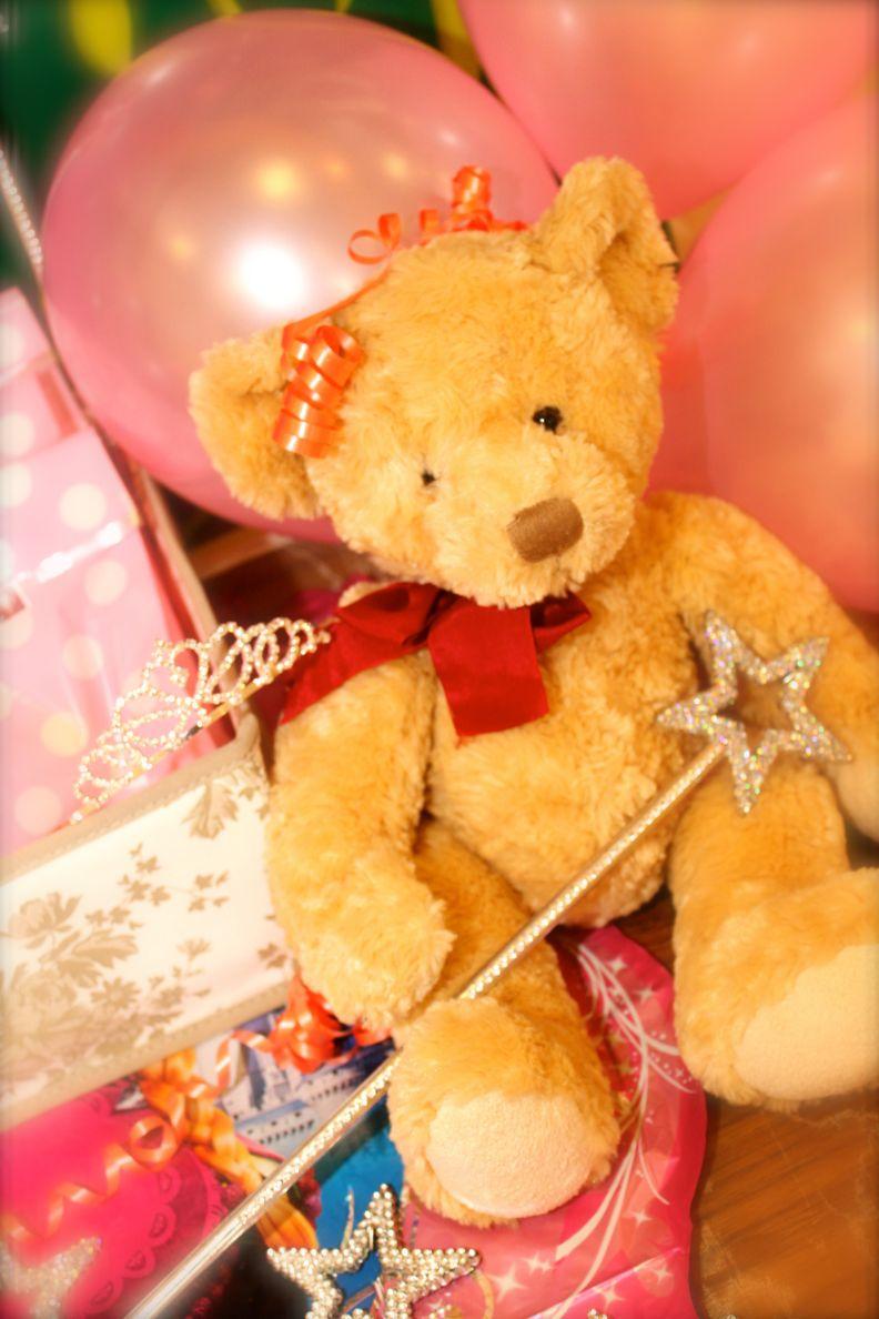 Princess Parties Teddy Bear